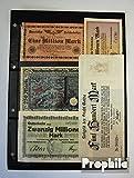 billetes para coleccionistas: alemán Imperio Alemania-colección Notgeld Inflationsscheine Alemania 5