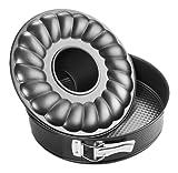 Zenker 6506 - Molde para tartas con accesorios para roscos