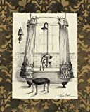 Impresión de Arte Fino en lienzo: Elegant Bath I by
