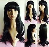 SONGYUNYANNiña, pelo largo y pelo liso, Liu Qi, negro natural,
