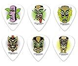 12 x Dunlop tabú Alias Tiki Púas para guitarra presentadas