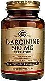 L-Arginina 50 cápsulas de 500 mg de Solgar