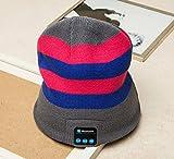 sundy 2016Nueva Moda Cálido Gorro inalámbrico de música Bluetooth Tapa