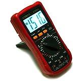 ULTRICS® Digital LCD multímetro voltímetro amperímetro AMP OHM Volt Checker