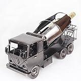 hierro camión rojo vino botellero botellero refrigerador muy bien decorado