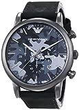 Emporio Armani AR1816 - Reloj para hombres, correa de cuero