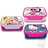 Sandwichera microondas Minnie Princesas Hello Kitty surtido-1 UNIDAD