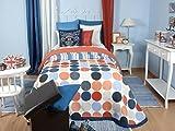 Tiendas Mi Casa - Colcha MIRTA Azul, disponible en varios