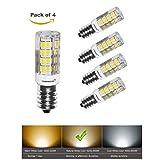 Lampaous® Bombilla LED (E14, Super Brillante SMD, 5W equivalente a
