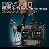 Bluelover Walkera DEVO 10 WK-DEVO 10 2.4 GHz transmisor 10CH