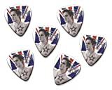 Tom Fletcher McFly 6 X Loose Guitarra Picks (Flag Design)