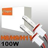 Engync® 100W de alta potencia bombillas de repuesto H11 xenón