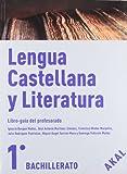 Lengua castellana y Literatura 1º Bachillerato (Enseñanza bachillerato)