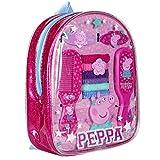 Mochila accesorios pelo Peppa Pig 10pz