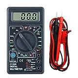 Polimetro Multimetro Tester Voltimetro Amperimetro Digital DT830B Cables y Batería