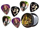 Aerosmith Steven Tyler (WK) 6 X Live Performance Guitarra Picks