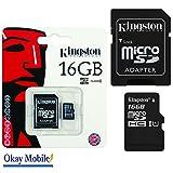 Tarjeta de memoria Micro Tarjeta SD 16GB for Samsung Galaxy