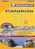 Calabria Michelin Local Map 364 (Michelin Regional Maps) by Michelin