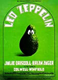 Led Zeppelin, Julie Driscoll, Concierto Reproducción sobre Calidad 200gsm de