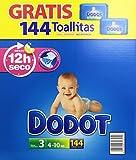 Dodot - Pack pañales bebés + toallitas - Talla 3,