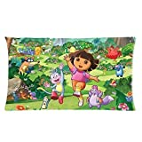 Estilo de dibujos animados Dora la Explorer Kid personalizado King