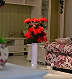 Flores artificiales ShiQi verdadero toque falso piso salón de flores