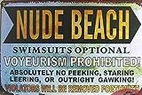 (19999) -para la decoración del hogar imitación antigua playa nudista