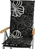 Gartenstuhlauflagen Sitzkissen Polster für Hochlehner // Gesamtlänge ca.119cm // Breite ca.48cm // Dicke ca.5cm