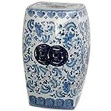 Oriental Muebles bonito oriental decoración del hogar (Azul y Blanco