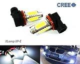 2x Luffy H11H8bombilla de alta potencia CREE LED faro principal