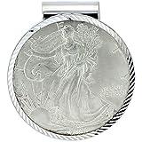 Revoni Plata de ley American Eagle Money Clip (1986-Presente) 1oz.