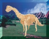 Puzzled Brachiosaurus LR 3D Natural Wood Puzzle by Puzzled
