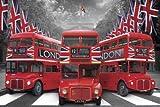 Londres - Póster - Palace autobús + meno-Póster
