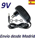 Cargador Corriente 9V Reemplazo Sunpower SA06N09-V Recambio Replacement
