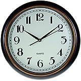 Reloj de pared analógico estilo Vintage - Esfera crema -