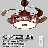 Stealth la luz del ventilador ventilador de techo en el