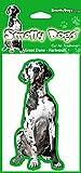 Gran danés (Harlequin) perro regalo-2x. Ideal ambientadores para el coche