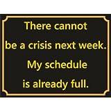 No Puede Haber una crisis la próxima semana en caja