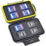 Caja protectora de tarjetas de memoria muy estable para 8x