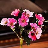 ShiQi Haz Flores artificiales falso Salón Arreglo Floral Chrysanthemum parte