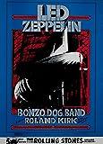 Led Zeppelin, Bonzo Dog Band, Concierto Reproducción sobre Calidad 200gsm