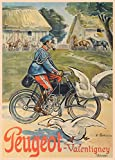 Peugeot Valentigney, Ciclismo Reproducción sobre Calidad 200gsm de espesor en