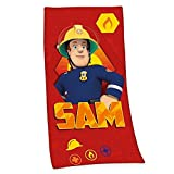 Sam El Bombero - Fireman Sam - Toalla de Baño