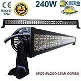 "240W 42""CREE LED Light Bar Spot Flood Combo lámpara de"
