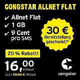 Congstar Allnet Villa [SIM, micro-SIM y nano-SIM] (500 / mes,