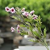 ShiQi Flores artificiales Fake poco Daisy Bouquet Salón Decoración Arreglo