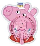 Peppa Pig - Set con diadema y accesorios de pelo,