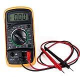 Multímetro digital voltímetro, amperímetro, AC, DC, ohmímetro 19 rangos de