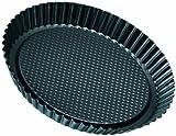 Zenker Pâtisserie - Molde rizado para tartas, diámetro 28 cm,