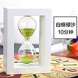 kxzzy Home Decoración Adornos Reloj de arena creativos regalos, 10minutos